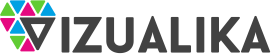 Vizualika – reklamos gamyba, spauda, maketavimas, verslo dovanos Logo
